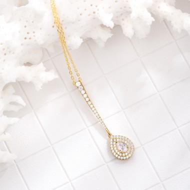 New Fashion Pendants Necklaces For Women Cute Fine Jewelry S925 Silver Fine Jewelry For Girls Women Accessories