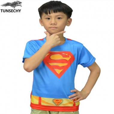 2018 The Avengers Alliance Superman Round Collar Short-Sleeved T-Shirt Printing Children Summer T-Shirt Wholesale And Retail
