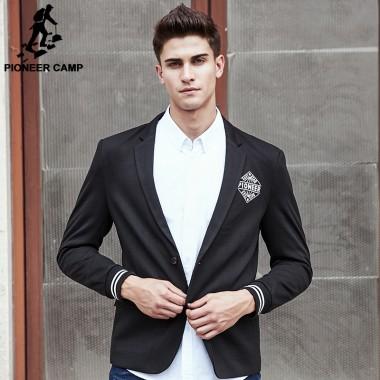 Buy Pioneer Camp New Style Suit Blazer Men Brand Clothing Top