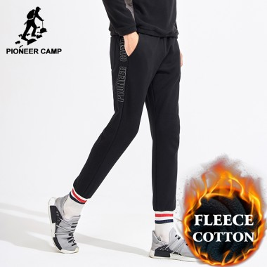 Pioneer Camp Heavyweight Sweatpants Men Brand Clothing Casual Winter Thick Fleece Warm Pants Male Top Quality Joggers AWK702328