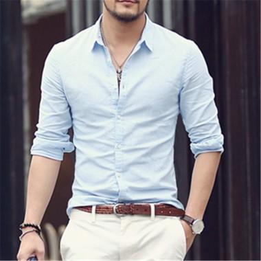 white shirt for men cotton