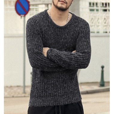 Autumn Winter Sweaters Men Pullovers Brands Slim Pullover Men V Neck Casual Turtleneck Sweaters Male Knitwear Pull Homme2016 New