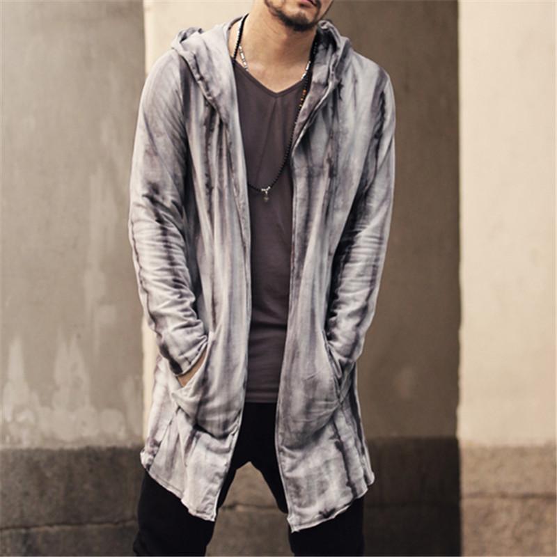 Men/'s Slim Fit V-neck Hoody Cardigan Outwear Sweatshirt Sweater Jacket Top Coat