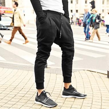 Men Autumn New Arrival Elasticed Slim Black Trousers Men Long Pants Top Quality Brand Pants Cotton Casual European Style 2017
