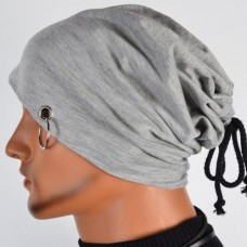 2017 Winter Style Mens Skullies Beanies Hat Cap Mens Casual Caps Fashion Turtleneck Male Wind Hip Hop Hats For Men Black Grey