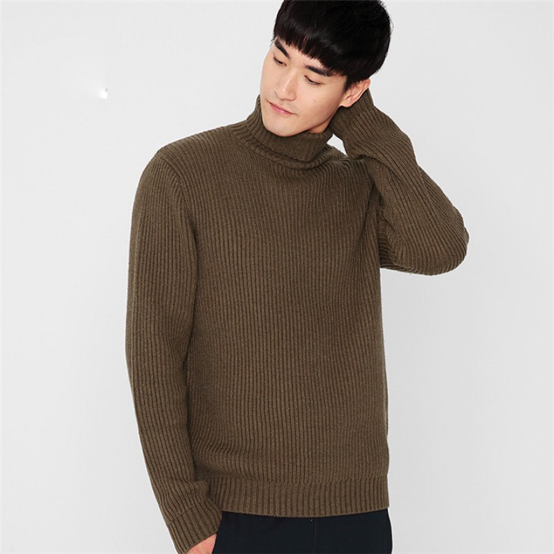 Buy Brother Wang Brand 2017 Winter New Mens Turtleneck Sweater