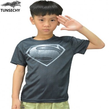 2018 Super Hero The Avengers Boys T-Shirt For Summer Cartoon Short Sleeves Children T Shirt Clothing Wholesale And Retail