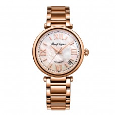 Reef Tiger/RT 2020 Top Brand Luxury Women Automatic Watch Rose Gold Ladies Bracelet Watches Date RGA1595-PWP