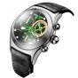 Reef Tiger/RT Mens Military Watches Men's Skeleton 316L Steel Quartz Watches RGA782-YNB