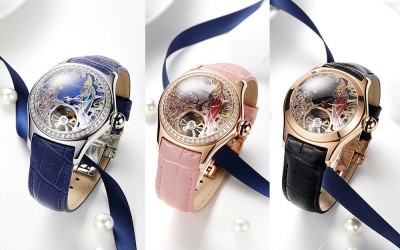 2018 Reef Tiger New Fashion Ladies Automatic Watches Waterproof 50M