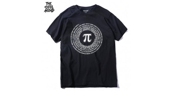75c25e3dfff8 Buy THE COOLMIND 100 Cotton Short Sleeve Math Printed Men T Shirt Casual O  Neck New Design Street Style Cool Funny Loose T Shirt From Reliable  Designer ...