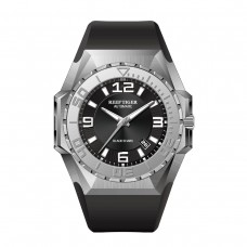 Reef Tiger/RT Big Sport Watches For Men Steel Case Automatic Mechanical Waterproof Military Watches RGA6903