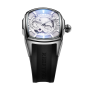 Reef Tiger/RT New Arrival Luxury Sport Mens Steel Case Black Rubber Strap Automatic Watch RGA3069S-YWB