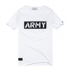 HW Men's Summer Costume Fashion Short-Sleeved T-shirt 100% Cotton Men's Loose Round Neck Embroidered T-shirt HW13271701