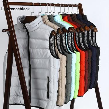 Fashion Men's Vest Winter Men Brand Vest Male Casual Cotton-Padded Waistcoat Sleeveless Jacket and Coat Warm Plus Size S-5XL 665