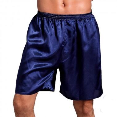 Short pants men silk pyjama Joggers Fitness Shorts Loose mens quick dry boardshorts Elastic short trousers Man Workout Bermuda