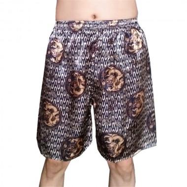 New arrive Mens Shorts Hip Hop Shorts Loose smooth silk Board Shorts Summer cool and refreshing Lounge Short Pants Boardshorts