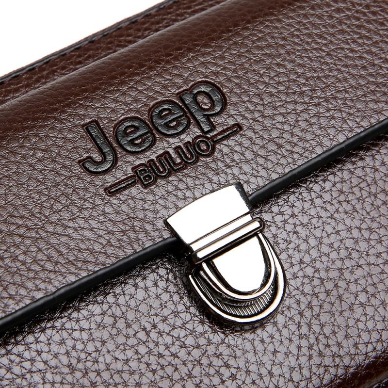 b7a3a159fb JEEP BULUO Men Wallets 2017 New Casual Wallet Men Purse Clutch Bag ...