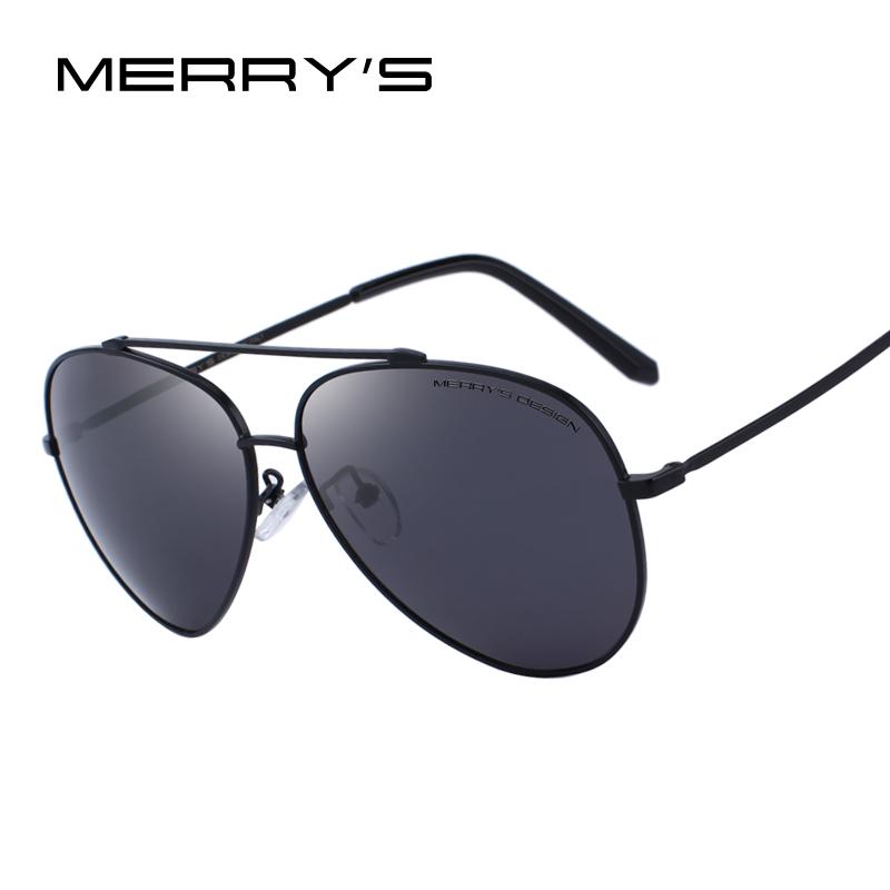 9d38c20b59ea MERRY S DESIGN Men Classic Pilot Polarized Sunglasses For Driving UV400  Protection S 8805