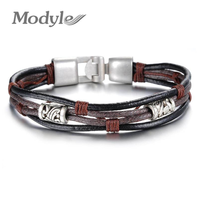 Mens Bracelet Leather