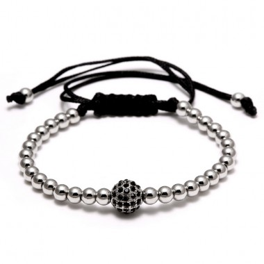Fashion Brand Bracelets Micro Inlay Shambhala Beads Bracelets Men Woman Charms Bracelet & Bangle Bijoux Men Jewelry
