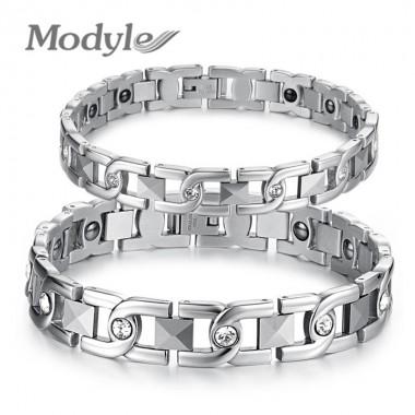 2018 New Lovers Bracelet Anti-Fatigue Energy Balance Women Men Bracelets 316L Stainless Steel Healthy Jewelry