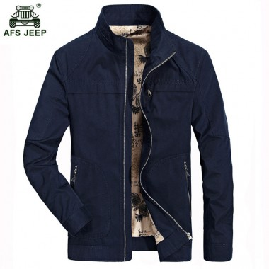 2018 New Spring Autumn Fashion Polo Mens Jackets and Coats causal Windbreaker Jacket Man outwear overcoat 137zr