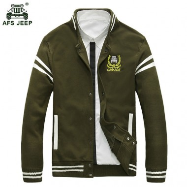 New Brand Men Jacket Red Bomber Jacket Men Fashion Style Mens Clothing Male Jacket Coat Baseball Collar Windbreaker Man 127zr