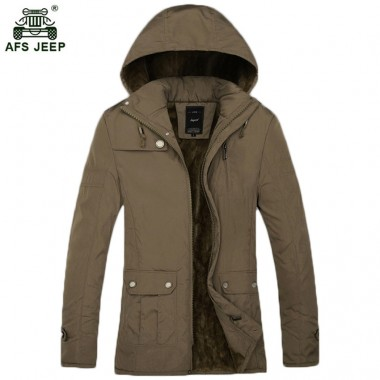 Free shipping 2018 new Autumn and winter cotton clothes Mens outfit thickened mens padded cotton padded jacket men parka 95hfx