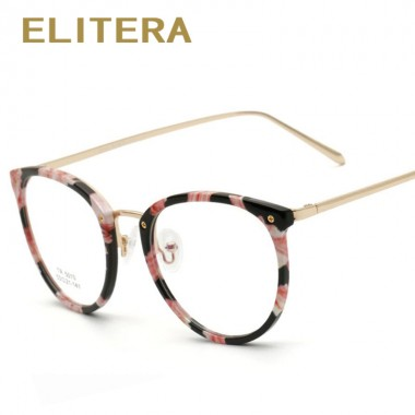 ELITERA Fashion TR90 Eyeglasses Retro Men Women Designer Eye glasses Male Female Optical Glasses Frame Eyewear Oculos