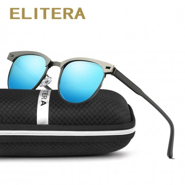 ELITERA New Arrival Classic Brand Men Women Sunglasses HD Polarized UV400 Mirror Male Sun Glasses For Men