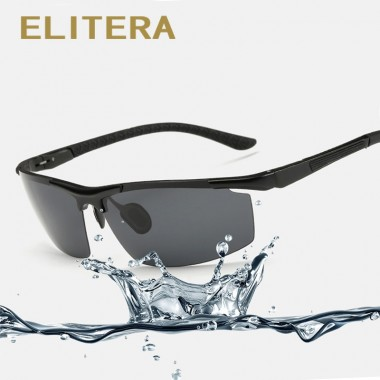 ELITERA 2018 New Brand Polarized Men Sunglasses Male Driving Fishing Outdoor Eyewears Accessories Wholesale Oculos de sol E3085