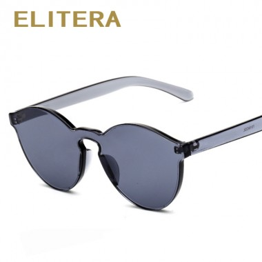 ELITERA Candy Color Sunglasses Women Vintage Sunglass Eyewear Men Women Brand Designer Retro Sun Glasses lunette de soleil