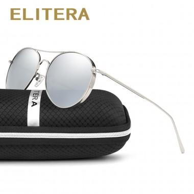 ELITERAL Fashion Metal Round Sunglasses Women Men Polarized Style Mirror Sun Glasses Retro Female Male Goggles Eyeglasses