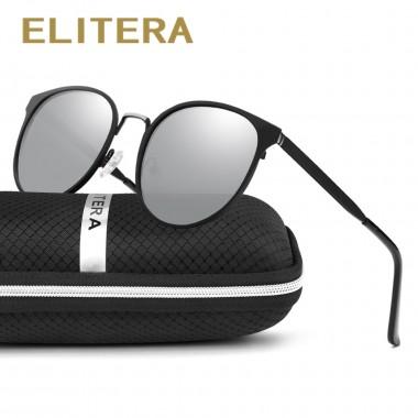 ELITERA Brand New Sunglasses Retro Vintage Classic Designer Men Sunglasses Polarized Sun Glasses Driving UV400 Eyewear