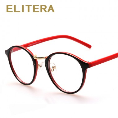 ELITERA High quality Glasses Frame Brand Designer Fashion Women Full Frame Eyeglasses Vintage Men Optical Frame Oculos de grau