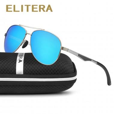 ELITERA Aluminum Magnesium Polarized Sunglasses Men Coating Mirror Driving Sun Glasses oculos Eyewear Accessories gafas de sol