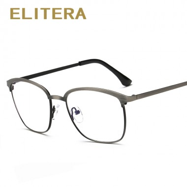 ELITERA 2018 Retro vitage round glasses frame eyeglasses for women men optical myopia eyeglasses frame oculos de grau femininos