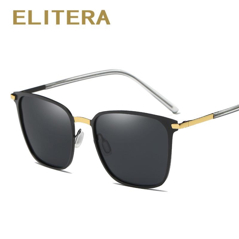 ca458e2b5f ... ELITERA New Fashion Brand Designer Alloy Sunglasses Polarized Mirror  lens Male oculos Sun glasses Eyewear For ...