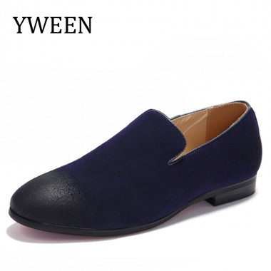 YWEEN Brand New Fashion Spring Summer Men Driving Shoes Loafers Leather Boat Shoes Breathable Male Casual Flats Loafers