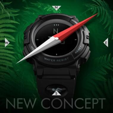 SKMEI Men Compass Watch Countdown Summer Time Digital Sports Watches Timekeeping Waterproof Wristwatches Relogio Masculino 1290