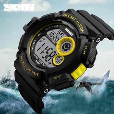 SKMEI Digital Watches Men LED Back Light Digital Watch Waterproof Men's Wrist Watch Sport Watches For Men Relogio Masculino 2018