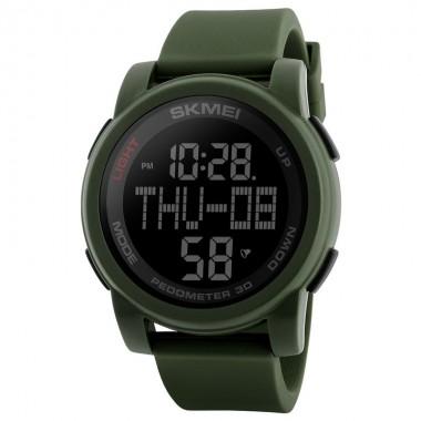 SKMEI Men's Watches Sports Watch Pedometer Calorie Stopwatch LED Digital Wristwatches Waterproof Clock Man Sport Watches For Men
