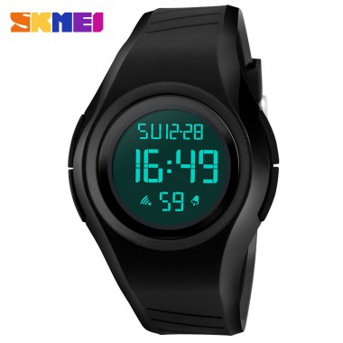 SKMEI Black LED Digital Watch Men Sports Watches Clocks Relojes Waterproof Fashion Outdoor Wristwatches Relogio Masculino 1269
