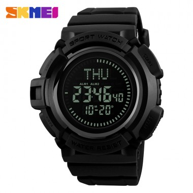SKMEI Compass Electronic Watch for Men Multifunction Military Digital Sports Wristwatches Countdown Waterproof Relogio Masculino