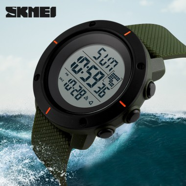 SKMEI Men's Watches Sport Watch Double Time Week Display Chronograph LED Display Digital Waterproof Clock Sport Watches For Men