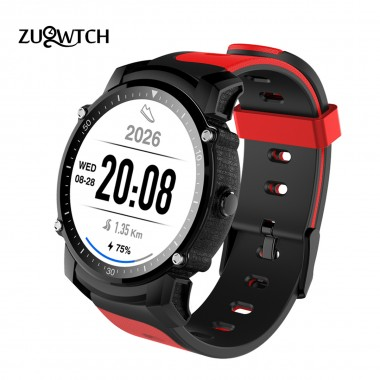 Smart Watch MTK2503 Bluetooth Smartwatch Sport Watch IP68 Waterproof Support GPS Barometer Compass Multi-mode Sport Smartwatch