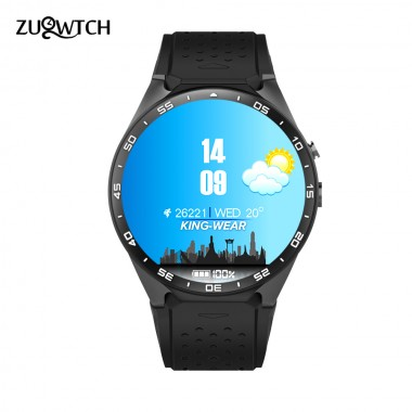 KW88 Smart Watch Android Watches 1.39 inch OLED Screen 512MB+4GB Smartwatch Support 3G SIM Card GPS WiFi Bluetooth Watch Phone