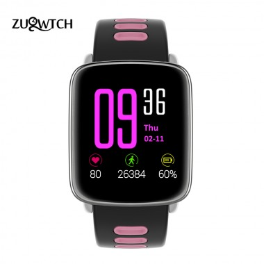 GV68 Smart Watches Bluetooth Watch Sports Watch IP68 Waterproof Fitness Tracker Heart Rate Pedometer for IOS Android Watch Phone