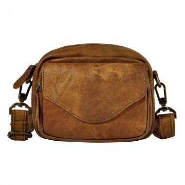 Hot Sale Top Quality Genuine Real Leather Cowhide men vintage Small Messenger Bag Pouch Waist Belt Pack Bag 6803
